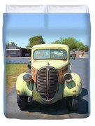 1938 Ford Truck Duvet Cover