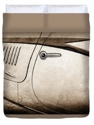 1938 Talbot-lago 150c Ss Figoni And Falaschi Cabriolet Side Door Handle -1511s Duvet Cover