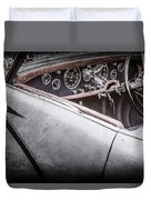 1938 Talbot-lago 150c Ss Figoni And Falaschi Cabriolet Steering Wheel -1561ac Duvet Cover