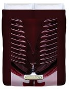 1938 Willys Grille Duvet Cover