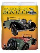 1939 Bentley Drop Head Coupe Duvet Cover
