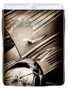 1939 Bugatti T57c Galibier -0298s Duvet Cover