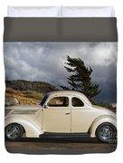 1939 Chevrolet Coupe Duvet Cover
