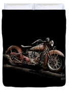 1939 Indian Chief Duvet Cover