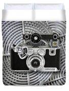 1939 Univex Mercury Camera Duvet Cover