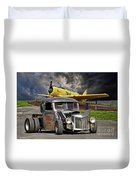 1940 Ford Rat Rod Pickup IIi Duvet Cover