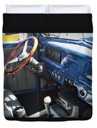 1940 Ford Truck Interior Duvet Cover