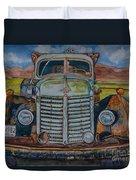 1940 International Harvester Truck Duvet Cover