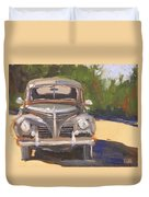 1940 Plymouth Duvet Cover