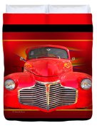 1941 Chevy Custom Duvet Cover