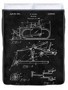 1941 Construction Bulldozer Duvet Cover
