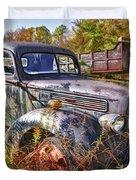 1941 Ford Truck Duvet Cover