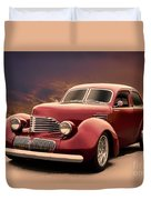 1941 Hollywood Graham Sedan I Duvet Cover