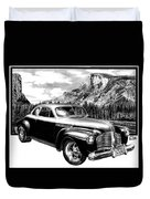1941 Roadmaster - Half Dome Duvet Cover