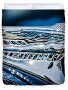 1946 Desoto Hood Ornament Duvet Cover
