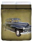 1946 Dodge D24c Sedan Duvet Cover