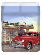 1946 Ford Deluxe Coupe Duvet Cover