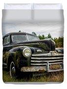 1946 Ford Model A Duvet Cover