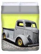 1947 Ford Cab Over Engine Truck Duvet Cover