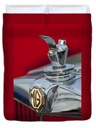 1947 Mg Tc Non-standard Hood Ornament Duvet Cover