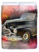 1947 Pontiac Convertible Photograph 5544.08 Duvet Cover