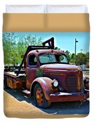 1947 Reo Speed Wagon Truck Duvet Cover