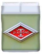 1948 Diamond T Emblem -ck0879c Duvet Cover