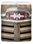 1948 International Hood Emblem -0227ac Duvet Cover