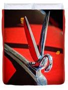 1948 Packard Hood Ornament 2 Duvet Cover