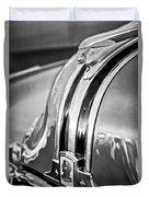 1948 Pontiac Chief Hood Ornament 4 Duvet Cover