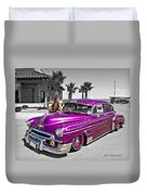 1949 Chevy Bomb_ 25a Duvet Cover
