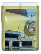 1950 Chevrolet Fleetline Grille Duvet Cover