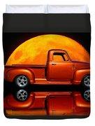 1950 Chevy Pickup Poster Duvet Cover