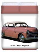 1950 Dodge Wayfarer 2 Door Sedan Duvet Cover