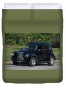 1951 English Ford Prefect Street Rod Sedan Duvet Cover