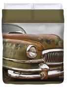 1951 Nash Ambassador Hydramatic Front End Duvet Cover