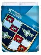1951 Studebaker Hood Emblem Duvet Cover