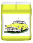 1952 Buick Special Duvet Cover