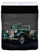 1952 Mg Td Roadster Duvet Cover