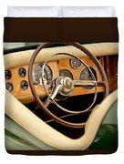 1952 Sterling Gladwin Maverick Sportster Steering Wheel Duvet Cover