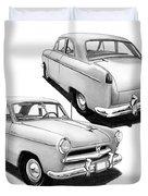 1952 Willys  Duvet Cover