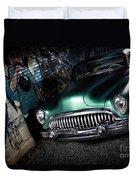 1953 Buick Roadmaster Duvet Cover