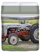 1953 Ford Golden Jubilee Naa Duvet Cover
