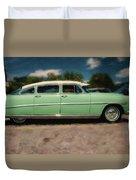 1953 Hudson Hornet Duvet Cover