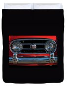 1953 Nash Healey Roadster Grille Duvet Cover