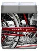 1953 Rollfast Duvet Cover