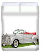 Rolls Royce Silver Dawn 1953 Duvet Cover