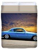1953 Studebaker 'blue Streak' Commander Duvet Cover