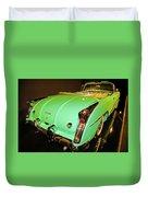 1954 Buick Skylark Fins Duvet Cover