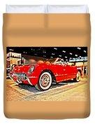 1954 Chevrolet Corvette Number 2 Duvet Cover